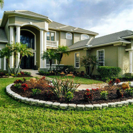 Newly Completed Landscape Design in Tampa FL